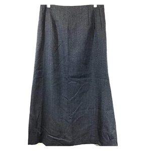 Harve' Bernard Lined Fine wool Skirt sz14